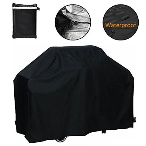 Grill Cover, 75 Inch Waterproof Breathable Outdoor Gas Bbq Grill Cover Extra Large For Weber Holland Char Broil Brinkmann And Jenn Air