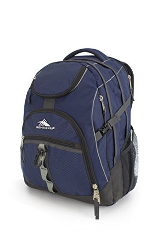 High Sierra Access Laptop Backpack - (True Navy/Mercury)