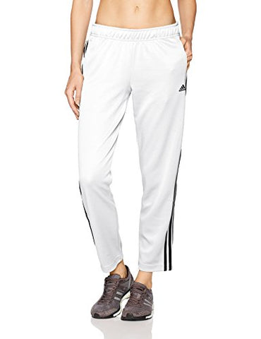 Adidas Women'S Athletics Tricot Snap Pants, White/Black/Black, Medium