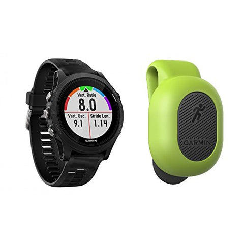 Garmin Forerunner 935 Triathlon Watch W/Bonus Running Dynamics Pod Bundle