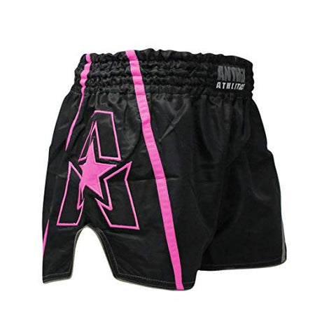 Anthem Athletics Infinity Muay Thai Shorts - 20+ Styles - Kickboxing, Thai Boxing - Ghost Pink - X-Large