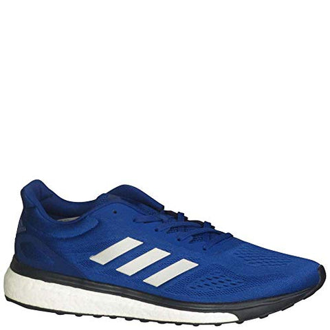 Adidas Response Boost Lt Mens Running Shoe 12 Collegiate Royal/Silver Metallic/White