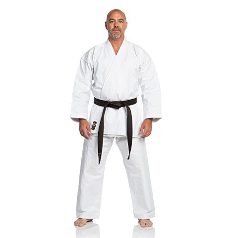 Ronin Brand 12Oz. Traditional Heavyweight Karate Uniform (White, 5)