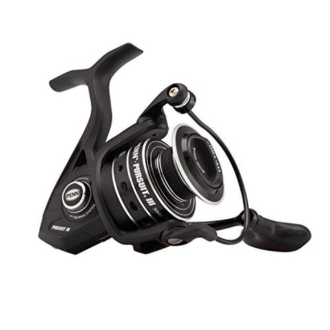 Penn Pursuit Iii 3000C Spinning Fishing Reel, Black/Silver, 3000