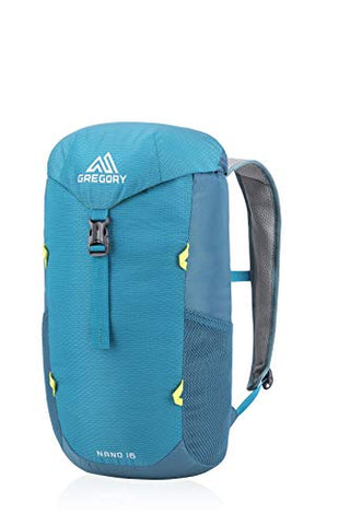 Gregory Mountain Products Nano 16 Liter Daypack, Meridian Teal, One Size