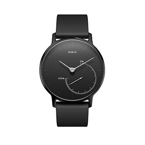 Nokia Steel Limited Edition - Activity &Amp; Sleep Watch, Full Black