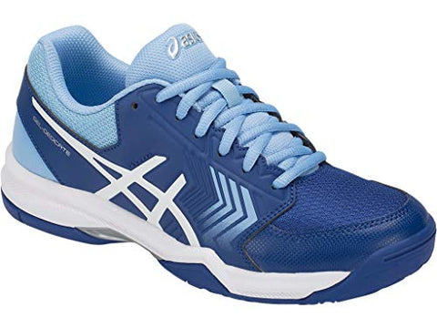 Asics Gel-Dedicate 5 Women'S Tennis Shoe, Monaco Blue/White, 7 M Us