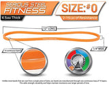 Serious Steel Fitness 12  Band Light Set (#0, 1, 2)
