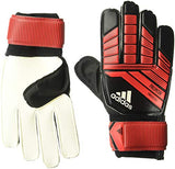Adidas F1806Gl019 Predator Training Soccer Gloves, Black/Red/White, Size 12