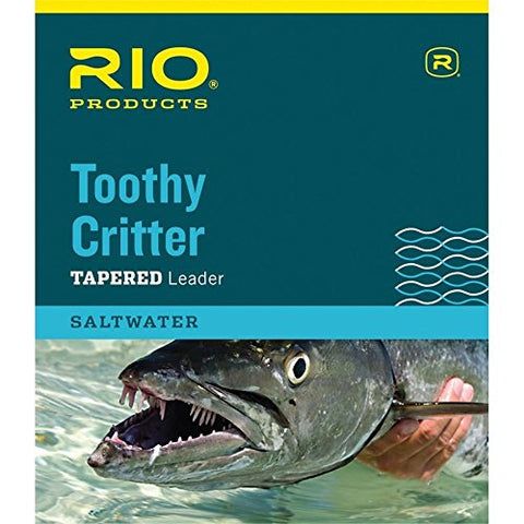 Rio Products Leaders Toothy Critter Ii 7.5' 20Lb Class 15Lb Knottable Wire, Clear