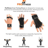 Gym Mujer Workout Wrist Wraps Men Women Weightlifting Gloves Men Weight Lifting Gloves Womens Exercise Gloves Men Sport Gloves Fitness Gloves Women Pull Up Grips Womens (Camo, Large)