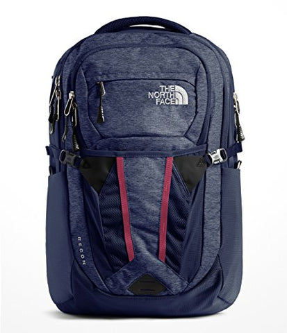 The North Face Women'S Recon Backpack - Urban Navy Light Heather &Amp; Urban Navy - Os