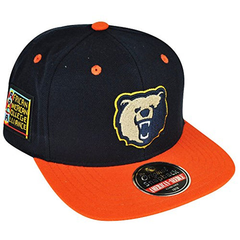 Morgan State University Bears Snapback Blockhead Baseball Cap (Hbcu)