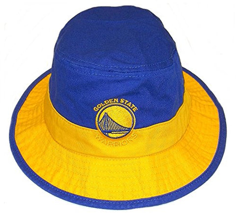 Nba Golden State Warriors Unisex Team Bucket Hat, Blue, Large/X-Large
