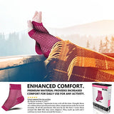 Sb Sox Compression Foot Sleeves For Men &Amp; Women - Best Plantar Fasciitis Socks For Plantar Fasciitis Pain Relief, Heel Pain, And Treatment For Everyday Use With Arch Support (Pink, Small)