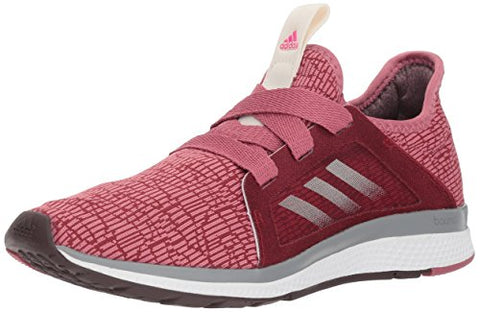 Adidas Women'S Edge Lux Running Shoe, Noble Maroon/Night Red/Shock Pink, 6.5 M Us