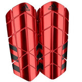 Adidas Ghost Pro Shin Guards, Bright Red, Medium