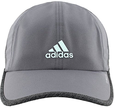 Adidas Women'S Superlite Relaxed Adjustable Performance Cap, Onix/Dark Grey Heather/Fresh Green, One Size