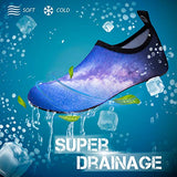 Simari Anti Slip Water Shoes For Women Men Summer Outdoor Beach Swim Surf Pool Sws001 Galaxy 11-12.5