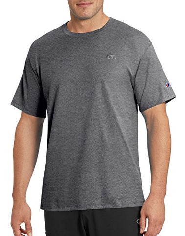 Champion Men'S Classic Jersey T-Shirt, Granite Heather, L