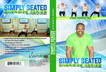 Senior Exercise Dvd: Simply Seated With Curtis Adams Is An Invigorating Total Body Chair Workout. Warm Up, Cardio/Endurance, Weight Traning, Stretching And More!