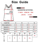 Icyzone Women'S Activewear Workout Yoga Spaghetti Strap Racerback Tank Top With Built In Bra (S, Aurora)