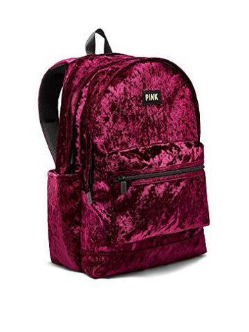 Victoria'S Secret Pink Campus Backpack Ruby Velvet