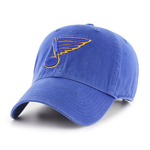 Nhl St. Louis Blues Male Ots Challenger Adjustable Hat, Royal, One Size