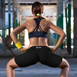 Copper Compression Womens Shorts - Tight Spandex Short For Women. Guaranteed Highest Copper Content. Best Active Fit Athletic Activewear Form Fit Short (X-Small Size 0-2)