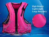 Omouboi Adult Inflatable Swim Vest Life Jacket For Snorkeling