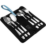 Ggbin 6-Piece Stainless Steel Camping Silverware Set, Lunch Cutlery Set