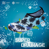 Simari Womens And Mens Water Shoes Quick-Dry Barefoot For Beach Swim Surf Yoga Sws001 Coconut 6.5-7.5