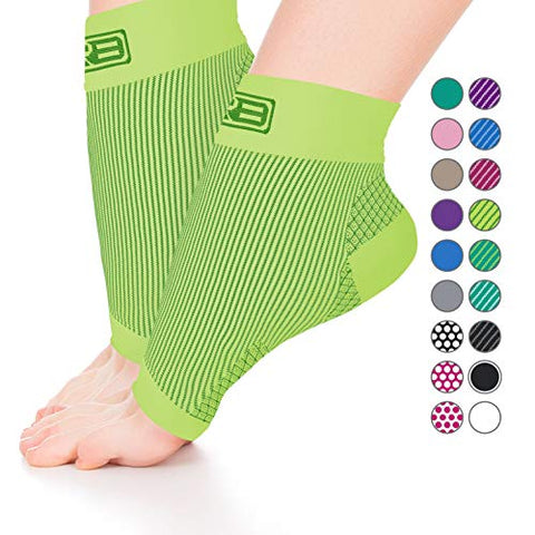 Go2Socks Plantar Fasciitis Sock, Compression Socks For Men Women - Best Ankle Sleeve For Arch Support, Injury Recovery And Prevention - Relief From Joint And Foot Pain, Swelling, Achy Feet(Ng Small)