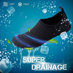Simari Unisex Water Sports Shoes Barefoot Aqua Socks Slip-On Indoor Outdoor Activities Sws001 Stripe Black 5-6