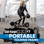 Gotrax Gxl Commuting Electric Scooter - 8.5  Air Filled Tires - 15.5Mph &Amp; 9-12 Mile Range - Version 2 (V2)