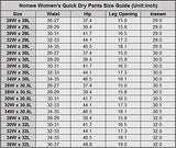 Nonwe Women'S Outdoor Sports Quick Dry Hiking Mountain Sports Pants Boa M/30.5  Inseam