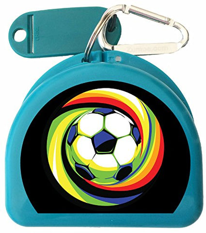 Zumoe Soccer Mouth Guard, Retainer Case - Soccer Power Ball
