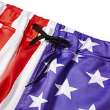 Men Womens 3D Printed Novelty Jogger American Flag Pants Trousers Casual Sweatpants Large