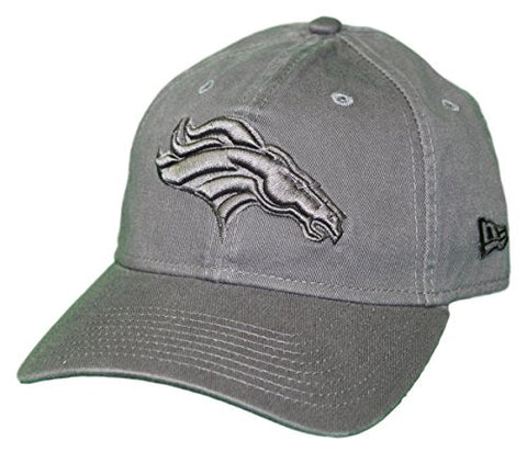 New Era Denver Broncos Nfl 9Twenty Classic Tonal Adjustable Graphite Hat
