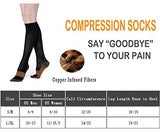 Copper Compression Socks For Men &Amp; Women(3 Pairs)- Best For Running,Athletic,Medical,Pregnancy And Travel -15-20Mmhg (L/Xl, Multicoloured 2)