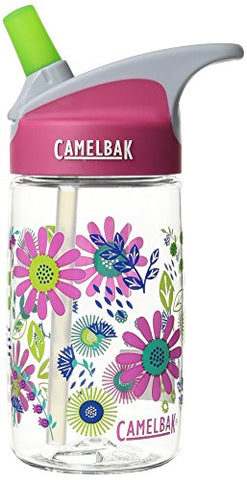 Camelbak Eddy Kids Bottle, Daisies, .4 L