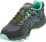 Asics Gel-Venture 6 Women'S Running Shoe, Black/Carbon/Neon Lime, 7 W Us