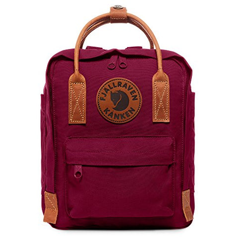 Fjallraven - Kanken No. 2 Mini Backpack For Everyday Use And Travel, Plum