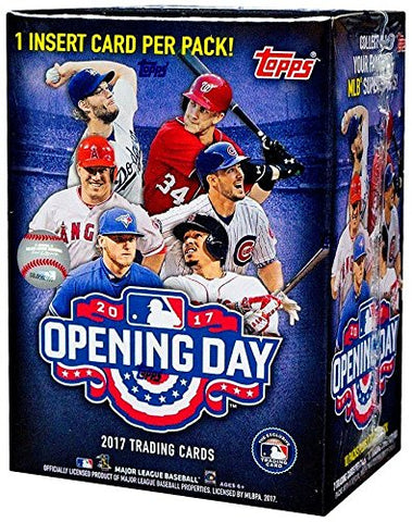 2017 Topps Opening Day Baseball Blaster Box