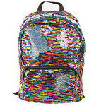Style.Lab Fashion Angels Magic Sequin Backpack-Rainbow/Silver