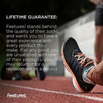 Feetures - Elite Ultra Light - No Show Tab - Athletic Running Socks For Men And Women - Sapphire - Size Medium