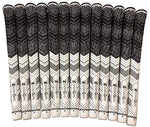 Wedge Guys Hybrid Mm Golf Grips  Set Of 13 Corded Moisture Wicking All-Weather Performance Golf Club Grip Replacement For Custom Regripping Of Clubs Wedges Drivers Irons &Amp; More (White)
