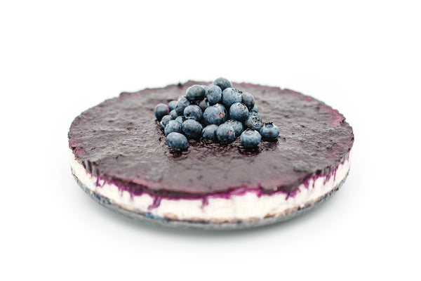 Baked Cheesecake New York style - Blueberry