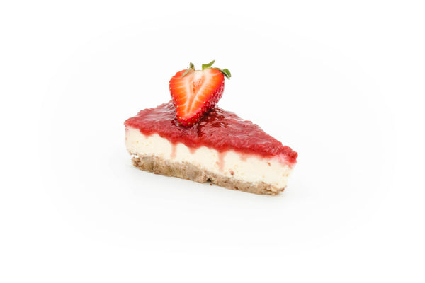 Baked Cheesecake New York style - Strawberry