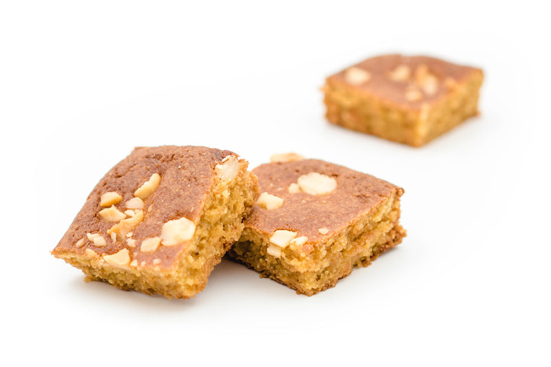 Blondies - White chocolate macadamia